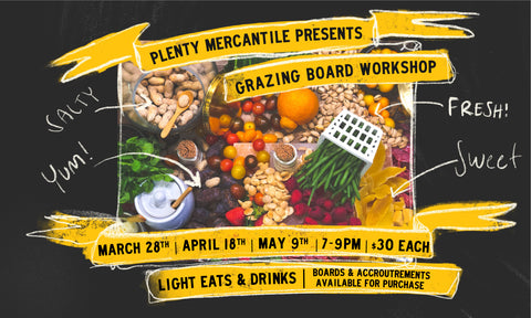 WORKSHOP | Grazing Boards