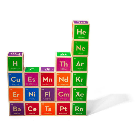 Periodic Table of Elements Building Blocks