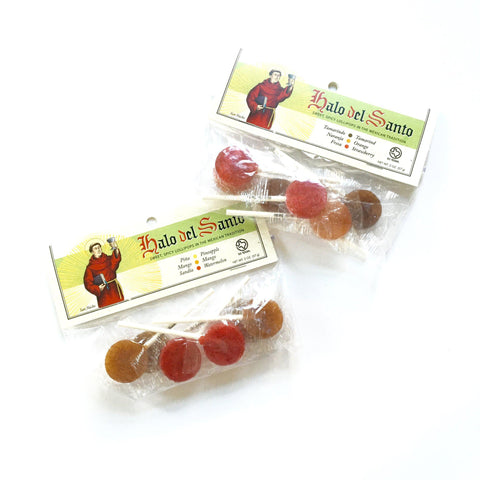 Sweet & Spicy Tamarind, Orange, Strawberry Lollipops