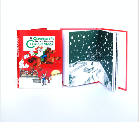 Mini Book | Cowboy's Night Before Christmas