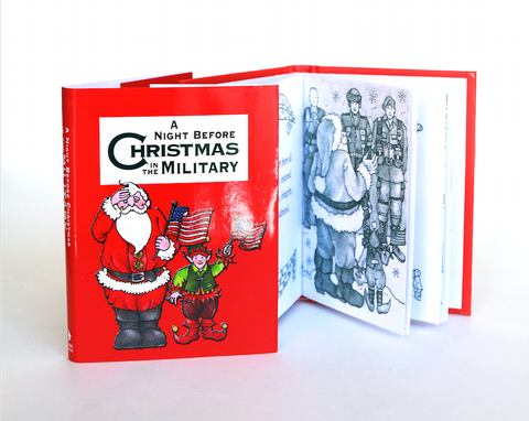 Mini Book | Night Before Christmas In The Military