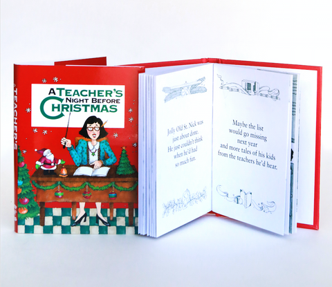Mini Book | Teacher's Night Before Christmas