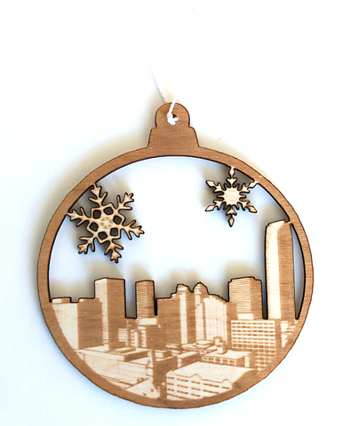 Ornament | Oklahoma Skyline