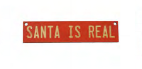 Ornament | Santa Is Real