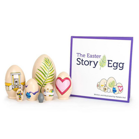 Easter Story Egg & Book Set