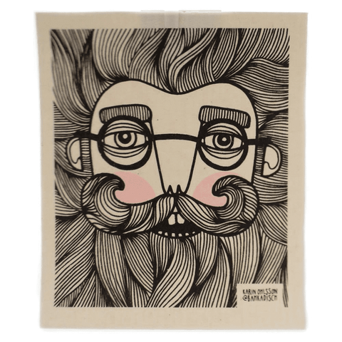 Swedish Dishcloth | Bearded Man