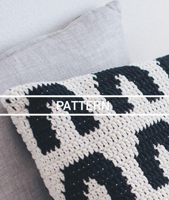 Crochet Pattern // Kaari Pillow