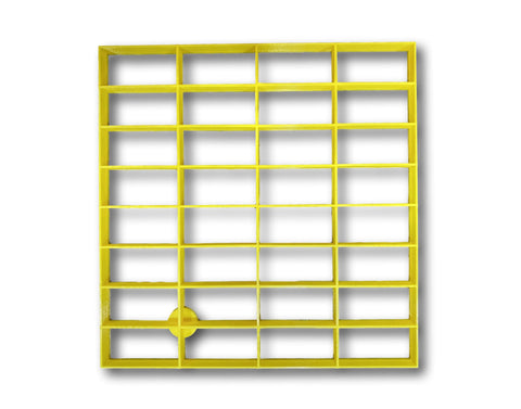 "2""x1"" (32 Rectangular ) Rectangular Shape multi Cookie Cutter ( 8""x8"" )"