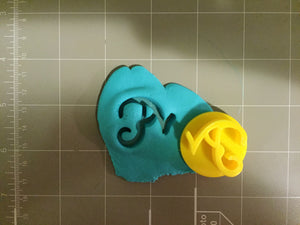 Monogram Letter Embosser (Choose your letter) - Arbi Design - CookieCutz - 5