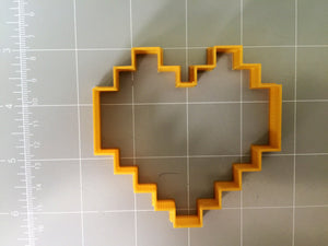 8-bit heart cookie cutter - Arbi Design - CookieCutz - 5