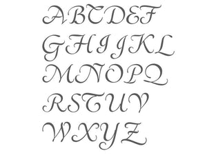 Monogram Letter Embosser (Choose your letter) - Arbi Design - CookieCutz - 3