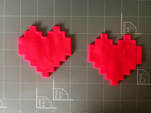 8-bit heart cookie cutter - Arbi Design - CookieCutz - 2
