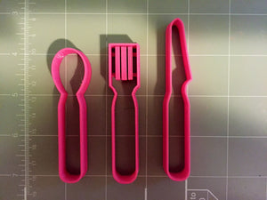 Utensils Cookie Cutter - Arbi Design - CookieCutz - 3