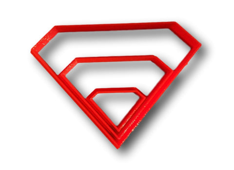 Diamond Cookie Cutter / Superman Cookie Cutter - Arbi Design - CookieCutz - 1
