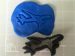 Boeing 787 Airplane Cookie Cutter - Arbi Design - CookieCutz - 2