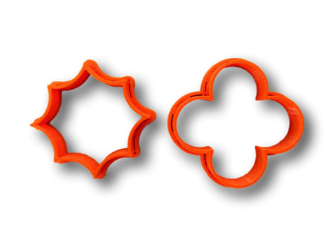 Quatrefoil Pairs Cookie Cutter Set - Arbi Design - CookieCutz - 1