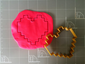 8-bit heart cookie cutter - Arbi Design - CookieCutz - 4