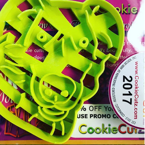 Custom Cookie Cutter Design Based on Portrait - Very Fast Turnaround Time