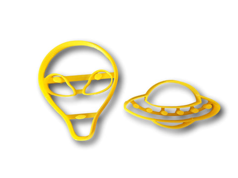 Alien and UFO cookie cutter set - Arbi Design - CookieCutz - 1