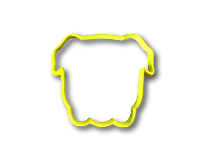 Bulldog Cookie Cutter (outline)