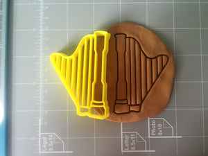 Harp Cookie Cutter - Arbi Design - CookieCutz - 2