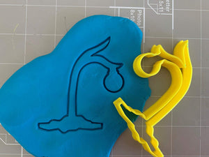 Charlie Brown Inspired Christmas Tree Cookie Cutter