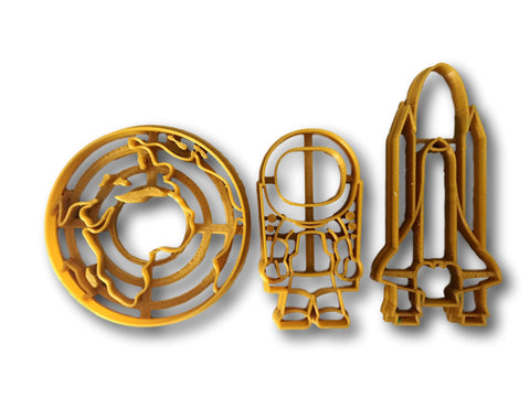Space Theme Cookie Cutter Set - Arbi Design - CookieCutz - 1