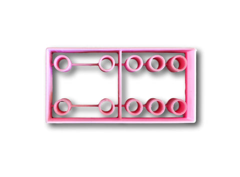 Domino Cookie Cutter