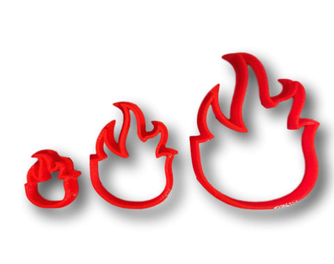 Fire Flame Cookie Cutter - Arbi Design - CookieCutz - 1