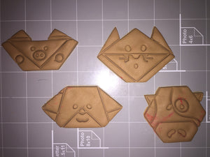 Origami Animals Cookie Cutter ( Choose Your Style ) - Arbi Design - CookieCutz - 2