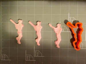 Baseball Player Cookie Cutter - Arbi Design - CookieCutz - 2