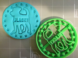 Customized Dog Cookie Cutter (with your dog'sname) Limited Edition - Arbi Design - CookieCutz - 1
