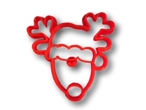 Christmas Reindeer Cookie Cutter - Arbi Design - CookieCutz - 1