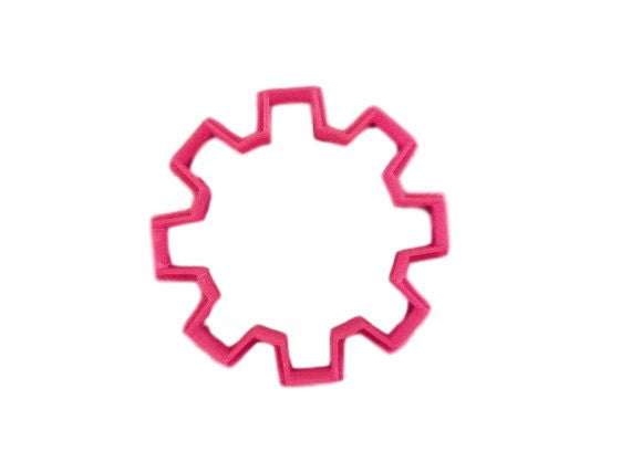 Gear Cookie Cutter