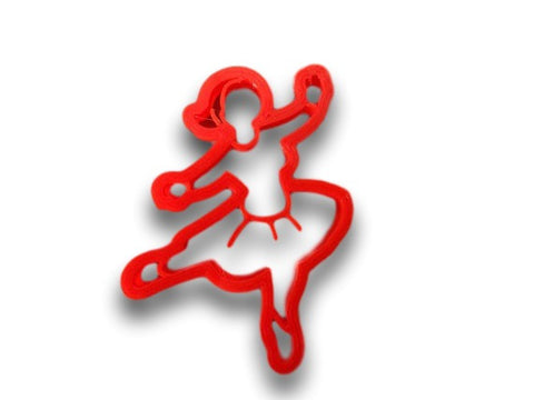 Ballerina Dancer Cookie Cutter - Arbi Design - CookieCutz - 1