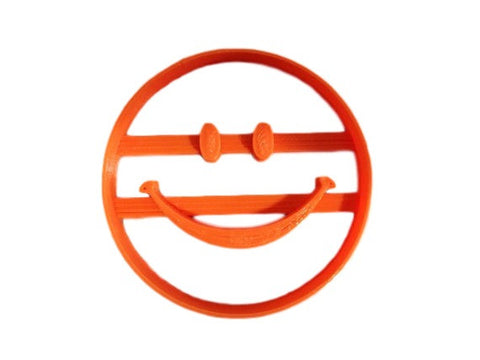 Happy Face Cookie Cutter - Arbi Design - CookieCutz - 1