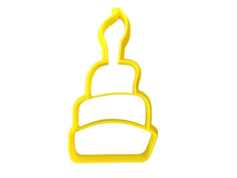 Birthday Cake Cookie Cutter - Arbi Design - CookieCutz - 1