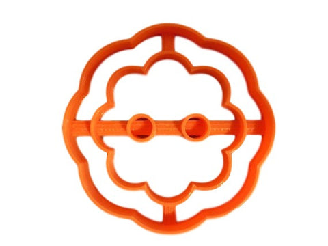 Button Cookie Cutter ( Style 2 ) - Arbi Design - CookieCutz - 1