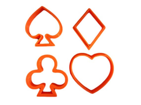 Playing Cards Cookie Cutter Set - Arbi Design - CookieCutz - 1