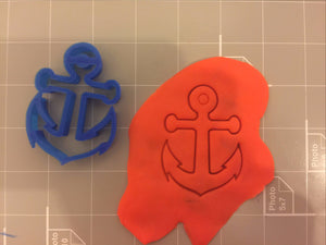 Anchor Cookie Cutter - Arbi Design - CookieCutz - 2