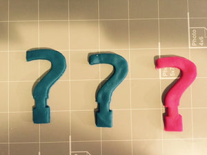 Question Mark Cookie Cutter - Arbi Design - CookieCutz - 3