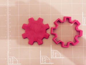 Gear Cookie Cutter - Arbi Design - CookieCutz - 3