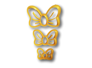 Lovely Bow Cookie Cutter - Choose Your Size - Arbi Design - CookieCutz - 1