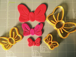 Lovely Bow Cookie Cutter - Choose Your Size - Arbi Design - CookieCutz - 3
