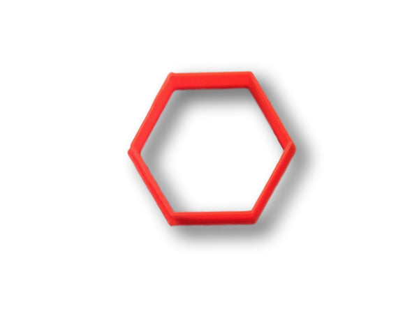 Hexagon cookie cutter honeycomb cookie cutter arbi for Cookie cutter house plans