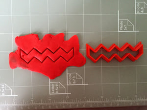Chevron Cookie Cutter - Choose Your Size - Arbi Design - CookieCutz - 2