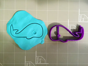 Whale Cookie Cutter - Arbi Design - CookieCutz - 2
