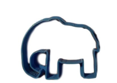 elephant cookie cutter (Style No. 1) - Arbi Design - CookieCutz - 1