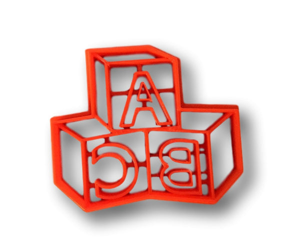 Abc baby letter blocks cookie cutter arbi design for Cookie cutter house plans