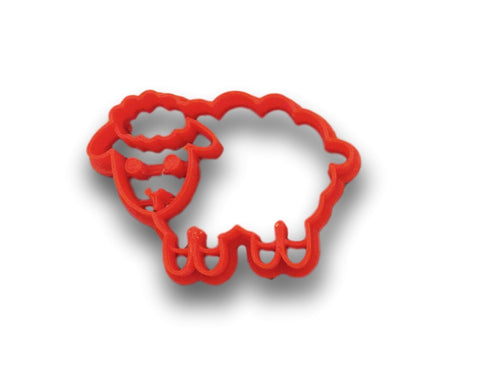 Cute Sheep Cookie Cutter - Animal Cookie Cutter - Arbi Design - CookieCutz - 1